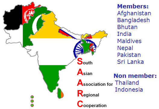 SAARC Nations