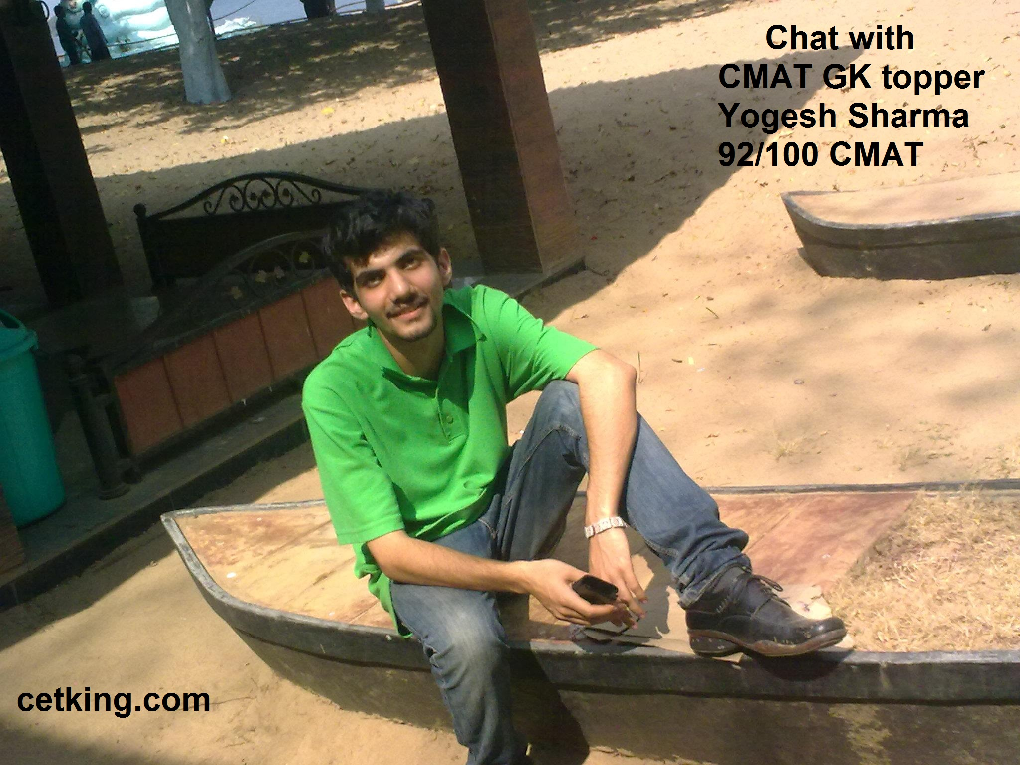 Coffee with CMAT GK topper Yogesh Sharma 92 100 marks in Gk