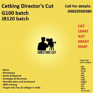 CAT CMAT GDPI preparation by Cetking