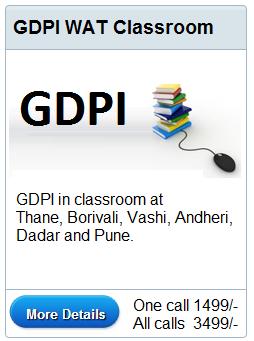 Class GDPI WAT Workshop in Class